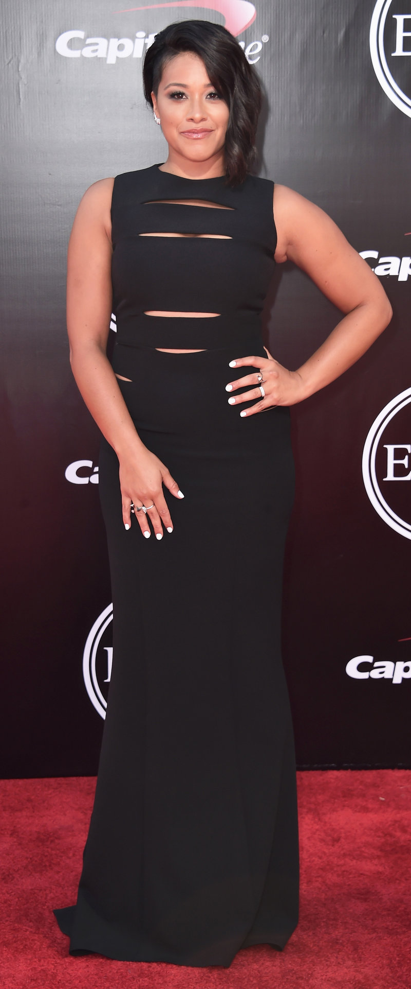 LOS ANGELES, CA - JULY 13: Actress Gina Rodriguez attends the 2016 ESPYS at Microsoft Theater on July 13, 2016 in Los Angeles, California. (Photo by Alberto E. Rodriguez/Getty Images)