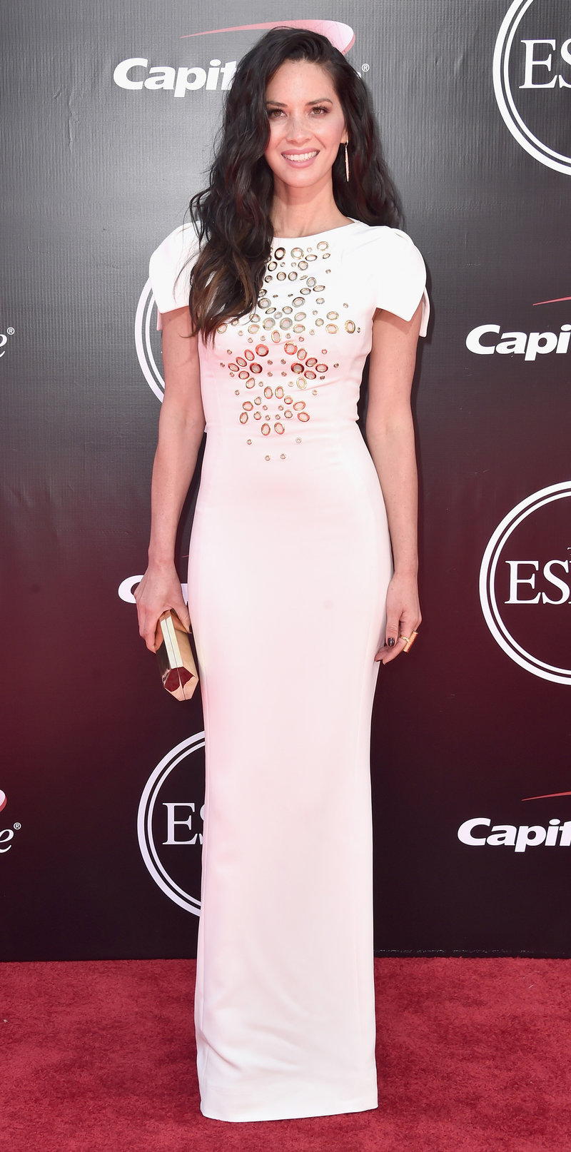 LOS ANGELES, CA - JULY 13: Actress Olivia Munn attends the 2016 ESPYS at Microsoft Theater on July 13, 2016 in Los Angeles, California. (Photo by Alberto E. Rodriguez/Getty Images)