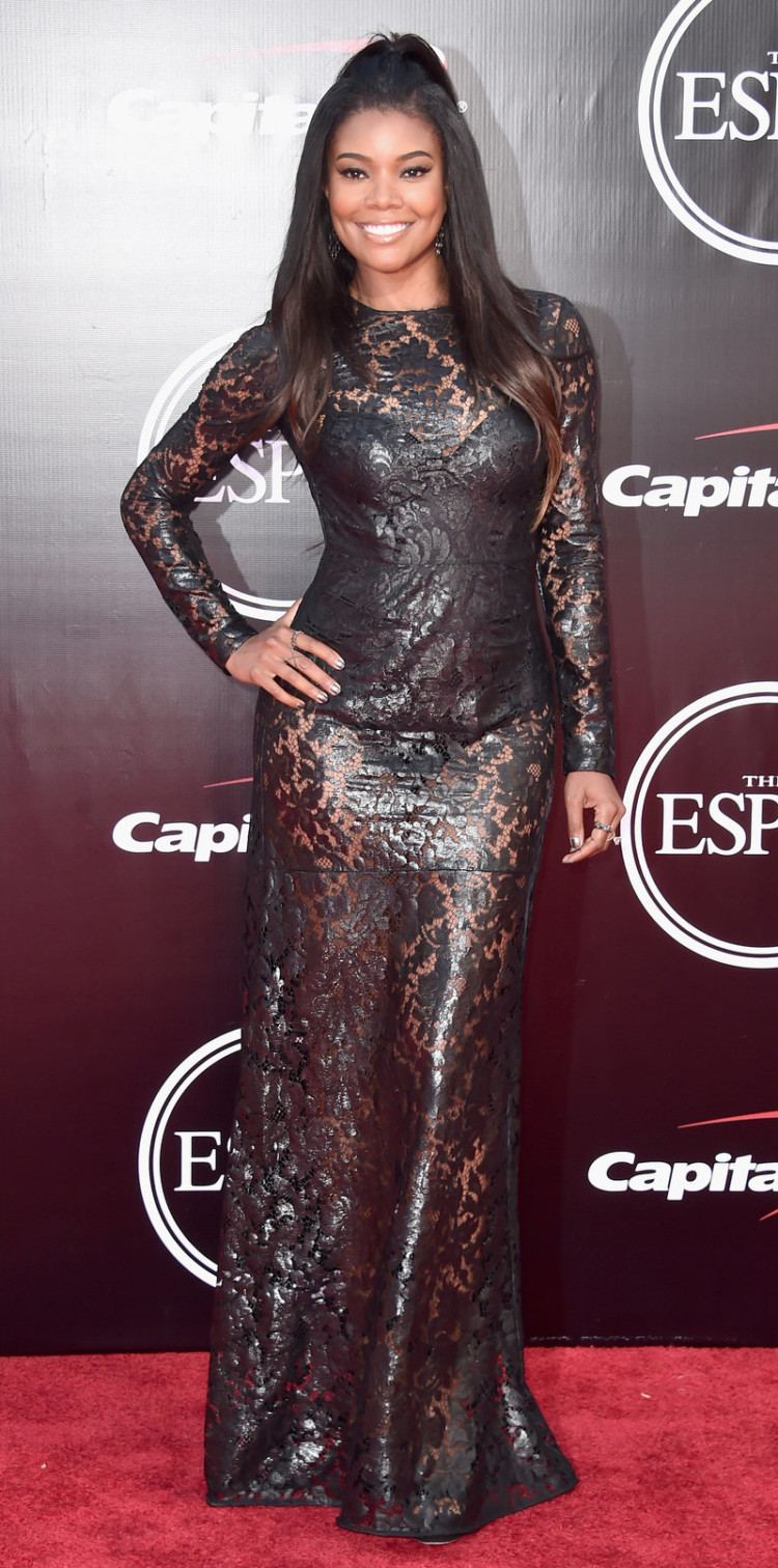 LOS ANGELES, CA - JULY 13: Actress Gabrielle Union attends the 2016 ESPYS at Microsoft Theater on July 13, 2016 in Los Angeles, California. (Photo by Alberto E. Rodriguez/Getty Images)