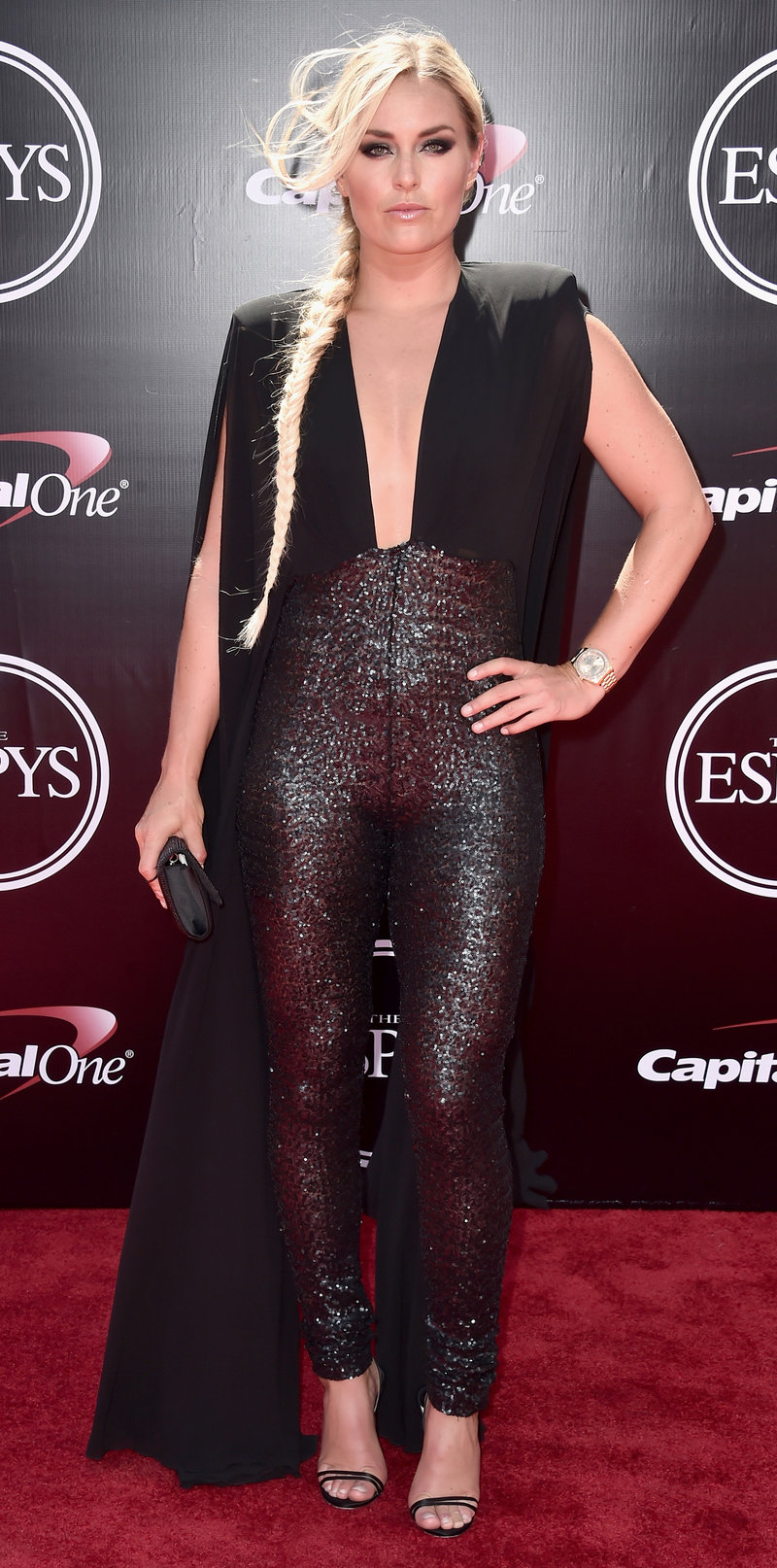 LOS ANGELES, CA - JULY 13: Skiier Lindsey Vonn attends the 2016 ESPYS at Microsoft Theater on July 13, 2016 in Los Angeles, California. (Photo by Alberto E. Rodriguez/Getty Images)